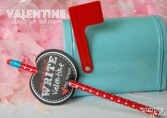 Valentines for teachers and students