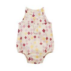 Voile Poppy Suit | Natural Organic Bio Baby Products: Organic Cotton & Merino Wool