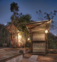 Soe Ker Tie Bamboo Houses Built For Refugee Orphans