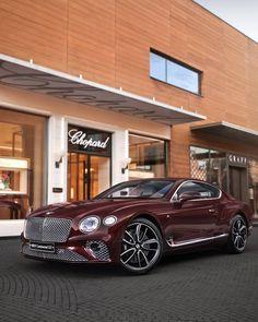 New Bentley Continental. Luxury Car Brands, Top Luxury Cars, Bentley Continental Gt, Weird Cars, Cool Cars, New Bentley, Bentley Motors, Pretty Cars, Future Car