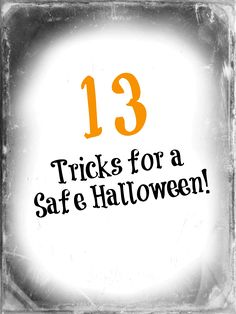 """There are plenty of  fang-tastic and ahhhhhsome words to describe Halloween and how spooktacular it can be…. but the most important word to a parent is """"SAFE"""". We have collected a list of our most favorite resources to share with you tips and tricks to keeping your kids safe this Halloween."""