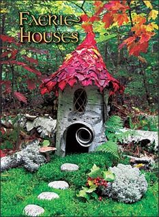 Garden Fairy Houses Twigs | card set our products fairy stationary fairy cards and notes