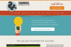 Squirrel Business hub
