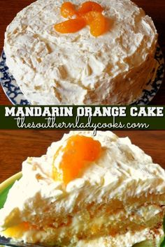 Mandarin orange cake is wonderful for any holiday or event. This cake is easy and delicious and a favorite on our site. Köstliche Desserts, Delicious Desserts, Yummy Food, Mandarin Cake, Mandarin Orange Pineapple Cake Recipe, Mandarin Orange Dessert Recipes, Recipes Using Mandarin Oranges, Pinapple Cake, Fruit Cocktail Cake