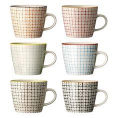 "Tassen ""Carla"" / handmade / 6-farbig sortiert / 6er Set von Boutique de France, http://www.amazon.de/dp/B00ABIIAKS/ref=cm_sw_r_pi_dp_ETGXrb1MEVPTB"