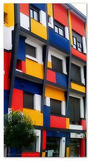 Inspirada en Mondrian