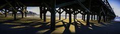 Under Springmaid Pier in Myrtle Beach by David Smith on 500px