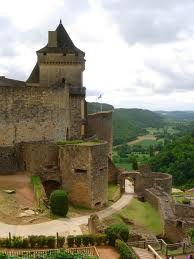 The medieval castle of Castelnaud in Dordogne, France