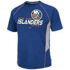 Majestic New York Islanders Overtime Victory Performance T-Shirt - Royal Blue