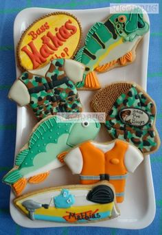 Fishing cookies