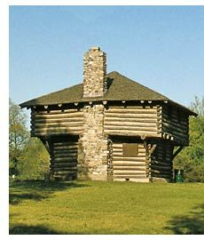 Fort Ouiatenon, Lafayette, Indiana, location for Feast of the Hunter's Moon in Autumn.