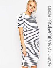 Dresses Enthusiastic Asos Maternity Dress Cream
