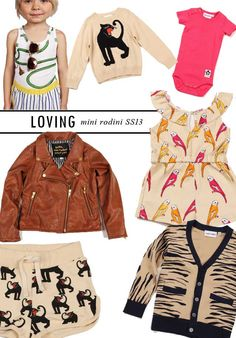From The Playroom Blog: Loving Mini Rodini SS2013
