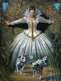 Michael Cheval 1966 | Surrealist and absurdist painter