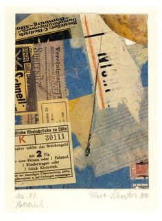 """Kurt Schwitters: Color and Collage"" at Princeton"