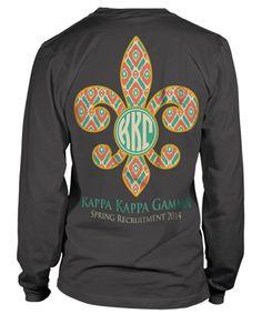 Twisted Papertini designs loves Kappa Kappa Gamma!