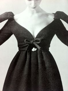 Fashion by Yves Saint Laurent for Dior, 1958