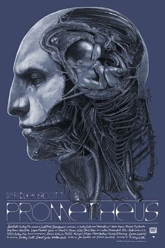 Prometheus by Gabz - Home of the Alternative Movie Poster -AMP-