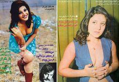 Cómo vestían las mujeres iraníes en los años 70