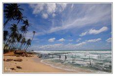 """Unawatuna, Sri Lanka   """"Unawatuna-Sri Lanka"""" by HUSEYIN AY, via 500px."""