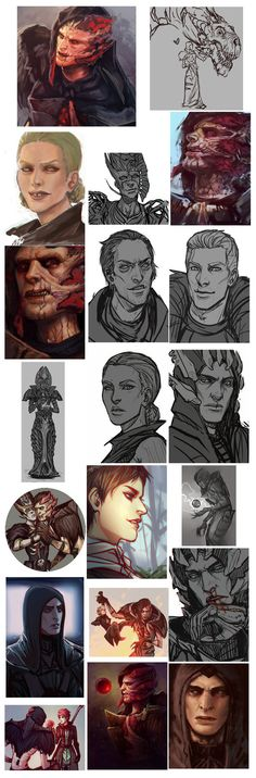 Wow thats a lot of Dragon Age rubbish by moni158