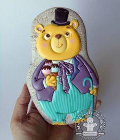 135 отметок «Нравится», 2 комментариев — My Lovely Cookie (@my_lovely_cookie) в Instagram: «У этого Мишки даже размер медвежий ! 18 см.!!!  #mylovelycookie #artcookies #пряники…»