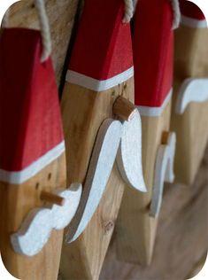 wooden santa Madame ki