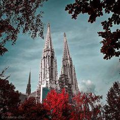 "NATI 📸 VIENNA auf Instagram: ""#topviennaphoto #amazingview #viennacity #viennagoforit #weloveaustria #wonderlustvienna #perspective #streetstyle #wienmalanders…"" Vienna, Austria, Perspective, Cathedral, Street Style, City, Amazing, Building, Travel"