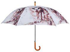 Parapluie Chouette en Nylon et Bois 121x95cm sur Jardindeco