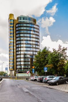 Zebra Tower business center, Warsaw, Poland