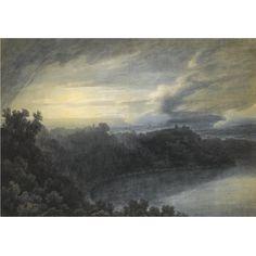 John Robert Cozens - Lake Albano