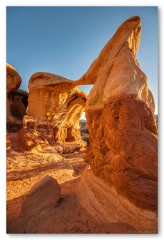 Grand Staircase Escalante National Monument~Metate Arch~ UT