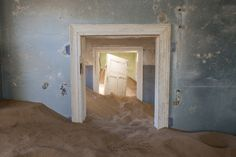 How the sands of time have almost swallowed a German ghost town in the Namibian desert | Public Radio International