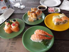 Sushi at Tapas & Oysters, Thesen Island, Knysna Knysna, Oysters, Tapas, Sushi, Restaurants, African, Island, Dining, Places