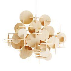 Bau lamp large, natural