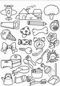 Colouring Pages, Free Coloring, Coloring Pages For Kids, Coloring Books, Doodle Drawings, Easy Drawings, Doodle Art, Drawing For Kids, Art For Kids