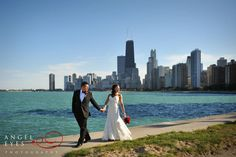 Chicago wedding North avenue beach