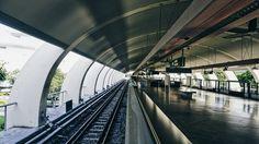 Singapore train station, architecture design