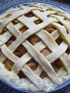 Kuchen de manzana Apple Pie, Ale, Sweet, Desserts, Recipes, Food, Chorizo, Apple Recipes, Cup Cakes