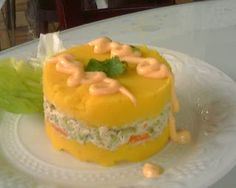 Causa Rellena Receta - Peruvian food