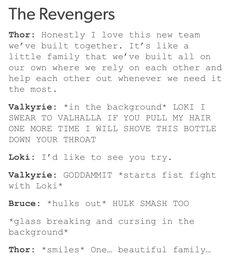 Marvel's Thor Ragnarok. Accurate af