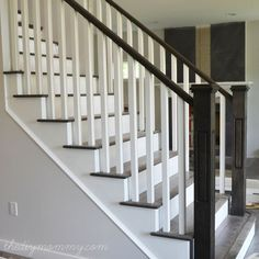 Finishing our Stair Railings (+ More Peeks at Our Almost-Finished Home) - Our DIY House