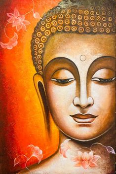 Buddha Painting, Buddha Art, Coffee Painting Canvas, Buddha Drawing, Buddha Canvas, Buddha Buddhism, Diy Canvas Art, Pichwai Paintings, Indian Art Paintings
