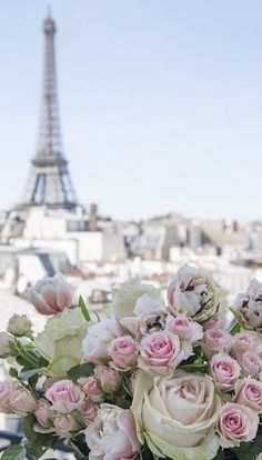 Roses on a Paris balcony