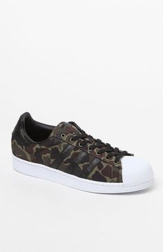 pretty nice 76a62 be60f Superstar Camouflage Shoes Adidas Superstar Camouflage, Lifestyle Clothing,  Dance, Pacsun, Shoes,