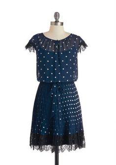 Dining Car Darling Dress, $137.99, #ModCloth