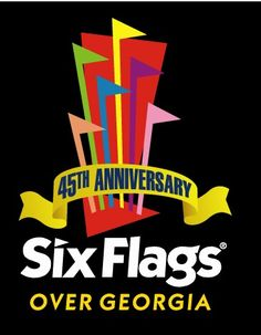 The name for Six Flags Over Georgia was inspired by six different flags that have flown over the state during its history, including Spain, France, Great Britain, the United States of America, the Confederate States of America, and the state of Georgia.