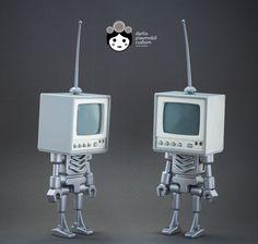 TVBots  playmobil custom