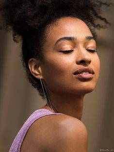 Easy Does It / Athina Elaiya, Eyes, Make-Up, Summer / Garance Doré