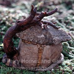 Terrarium Troll Hut Gardens Fairies and Home and garden